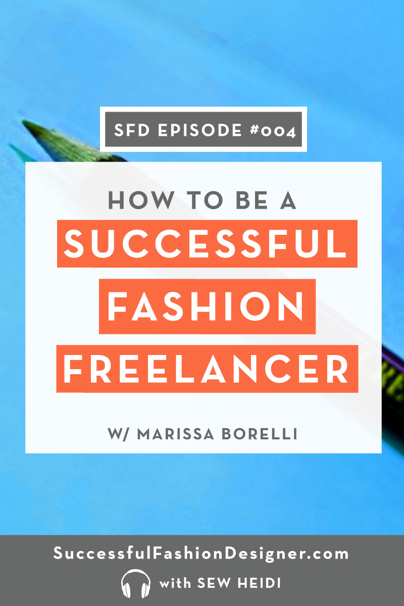 How to be a successful fashion design freelancer